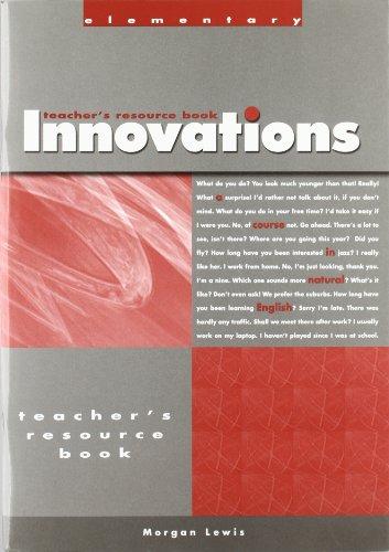 9781413012705: Innovations Elementary-Teachers Resource Text