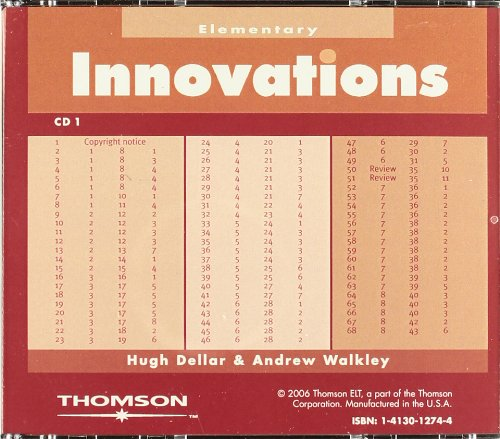 9781413012743: Innovations Elementary-Audio CDs