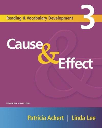 Cause & Effect: Audio CD: Patricia Ackert