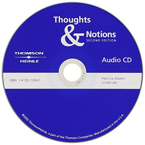 9781413013344: Thoughts & Notions: Audio CD