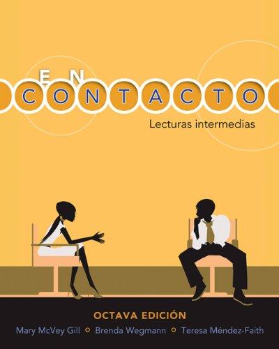 9781413013733: En contacto: Lecturas intermedias
