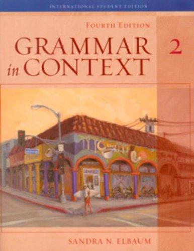 9781413013955: Grammar in Context: Bk. 2