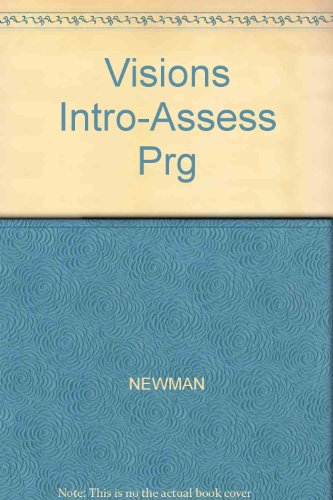 Visions Intro-Assess Prg (1413014895) by NEWMAN; Sullivan, Korey-O