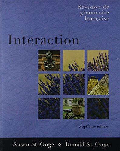 9781413016482: Interaction: Revision de grammaire française