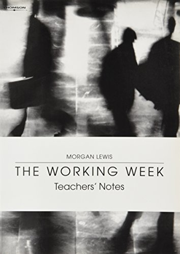 The Working Week: Instructor's Manual (1413018580) by Anne Watson-Delestree