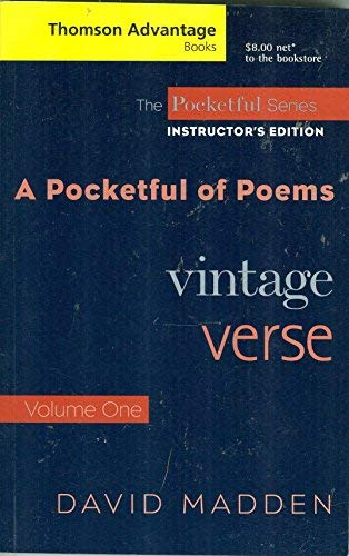 A Pocketful of Poems: Vintage Verse
