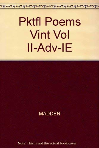 9781413019094: A Pocketful of Poems (Vintage Verse, Vol Two)
