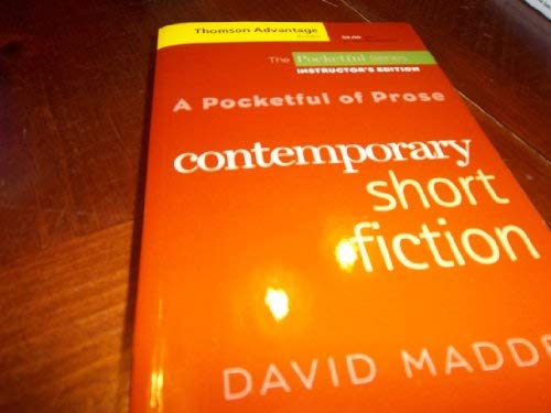 A Pocketful of Prose: Contemporary Short Fiction: MADDEN