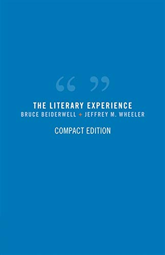 9781413019254: The Literary Experience, Compact Edition (Available Titles CengageNOW)