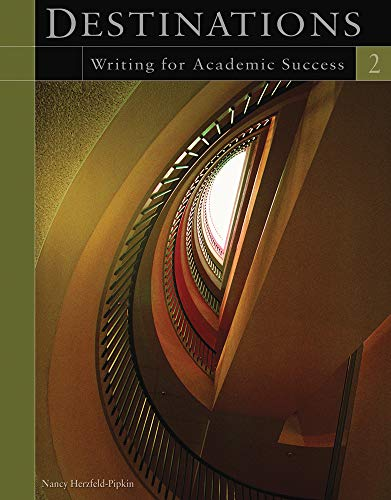 9781413019360: Destinations 2: Writing for Academic Success
