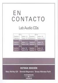 9781413019865: Lab Audio CDs for En contacto: Gramática en accion, 8th