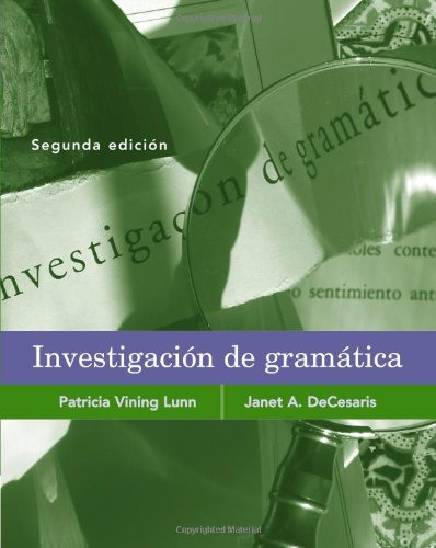 9781413019964: Investigacion de gramática
