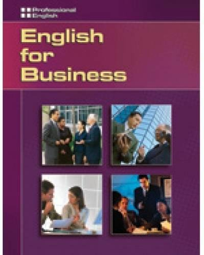Professional English - English for Business (9781413020502) by O'Brien