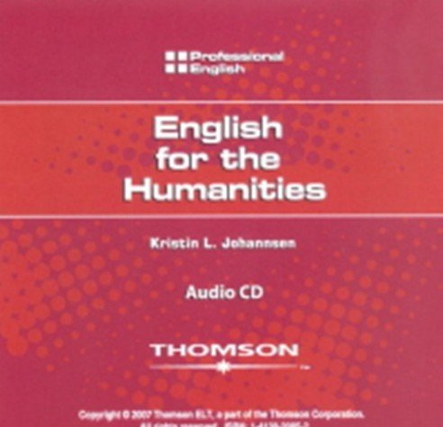 English for Humanities: Johannsen, Kristin L.