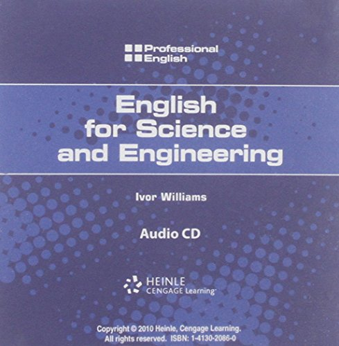 9781413020861: Professional English: Science and Engineering Audio CD