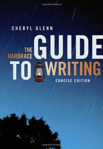 9781413021806: The Harbrace Guide to Writing, Concise Edition