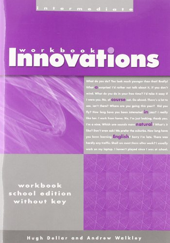 9781413022773: Innovations Intermed-Workbook without Answer Key