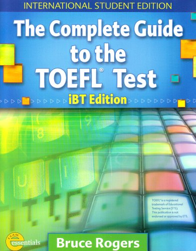 9781413023060: Complete Guide to the TOEFL Test - International Student Edition Text + CD Package