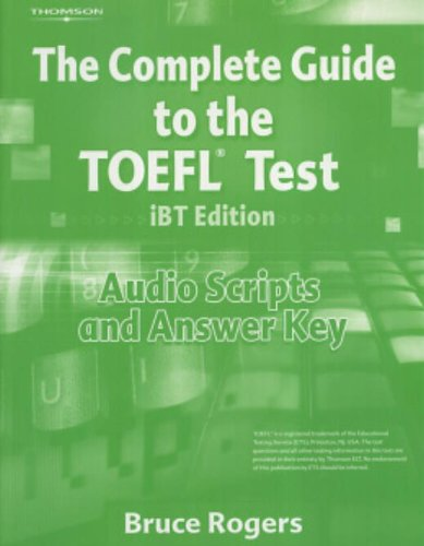 9781413023114: Complete Guide to TOEFL Audio Scripts with Answer Key (Complete Guide to Toeic)