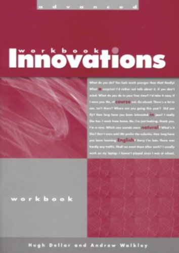 9781413028508: Innovations. Advanced Level. Workbook