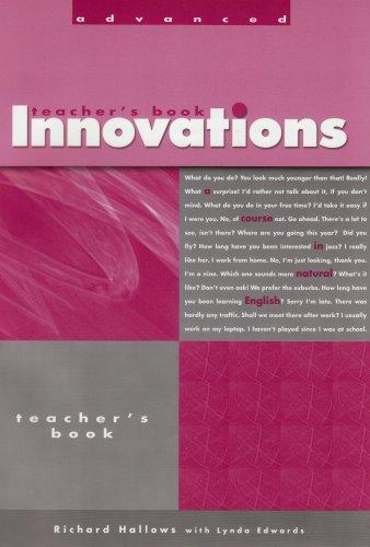 9781413028539: Innovations Advanced: Teacherstext (Innovations)
