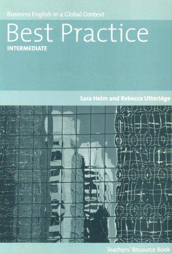 9781413028584: Best Practice: Intermediate-Teacher's Text