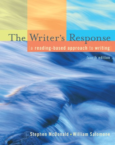 9781413029307: The Writer's Response: A Reading-Based Approach To Writing