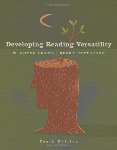 9781413029611: Developing Reading Versatility