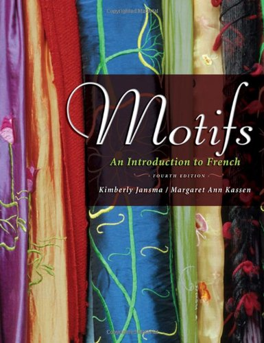 9781413029819: Motifs: An Introduction to French, 4th Edition (Book & 2 CD-ROMs)