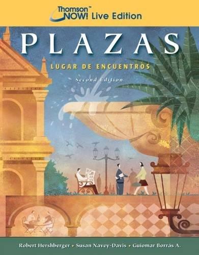 9781413030013: Plazas: Lugar de encuentros (CengageNOW! Live Edition)