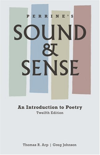 9781413030549: Perrine's Sound and Sense: An Introduction to Poetry