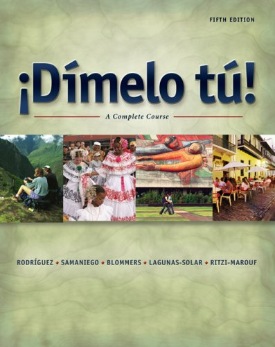 9781413031607: Dimelo tu! A Complete Course