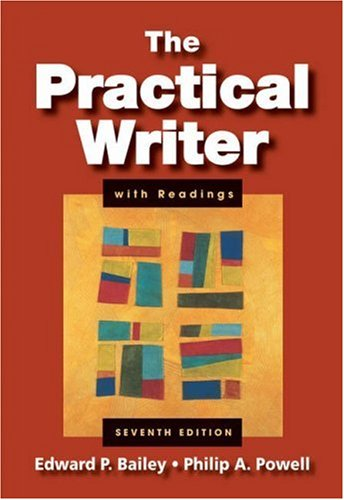 9781413032215: The Practical Writer with Readings