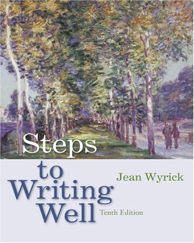 Steps to Writing Well: Jean Wyrick