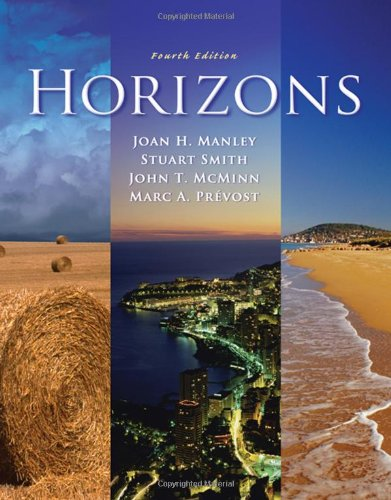 Horizons (with Audio CD) (1413033075) by Manley, Joan H.; Smith, Stuart; McMinn, John T.; Prevost, Marc A.