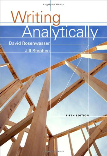 9781413033106: Writing Analytically