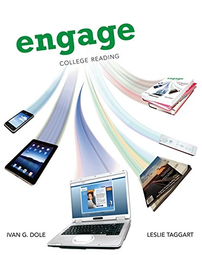 9781413033175: Engage: College Reading (New 1st Editions in Developmental English)