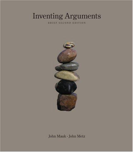 9781413033441: Inventing Arguments, Brief