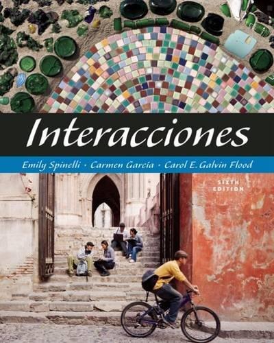 9781413033786: Interacciones (with Audio CD) (World Languages)