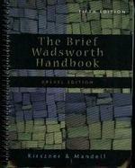 9781413045802: The Brief Wadsworth Handbook