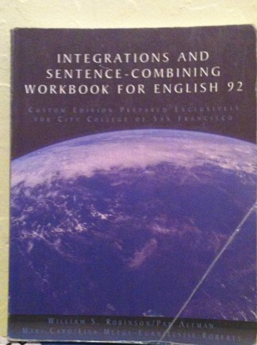 9781413099904: Integrations and Sentence-Combining Workbook for English 92