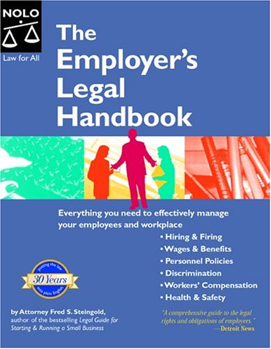 9781413300222: The Employer's Legal Handbook
