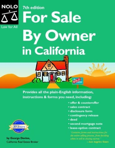 9781413300246: For Sale by Owner in California
