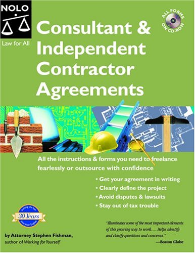 9781413300260: Consultant & Independent Contractor Agreements With CD