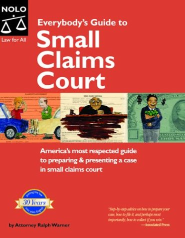 9781413300345: Everybody's Guide to Small Claims Court (EVERYBODY'S GUIDE TO SMALL CLAIMS COURT NATIONAL EDITION)