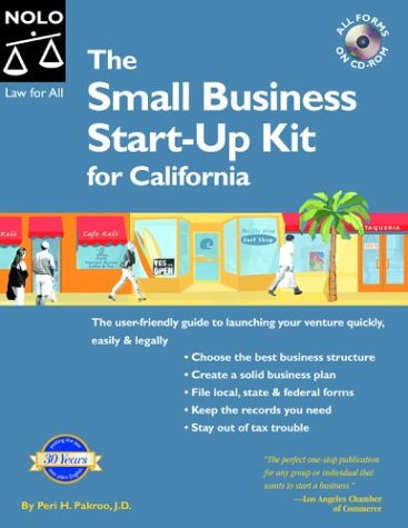 9781413300376: Small Business Start-Up Kit for California