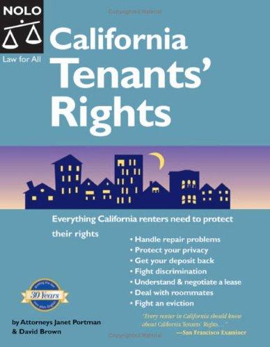 9781413300666: California Tenants' Rights