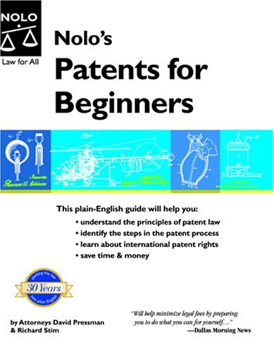 9781413300710: Nolo's Patents for Beginners