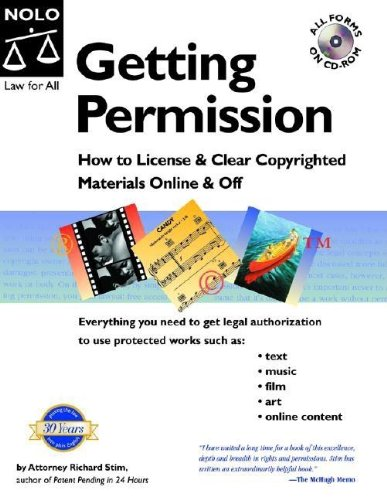 9781413300741: Getting Permission: How To License & Clear Copyrighted Materials Online & Off