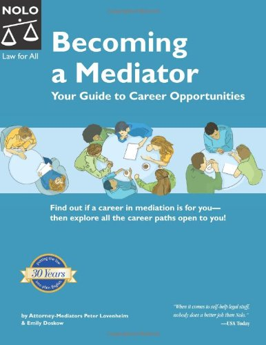 9781413300772: Becoming A Mediator: Your Guide To Career Opportunities